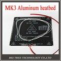 RepRap 3D принтер части PCB heatbed MK3 + LED + Резистор + кабель + 100 К ом Термисторы Алюминий с подогревом кровать диаметром, как MK2B