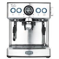 220V Espresso Coffee Maker 19Bar Semi Automatic Stainless Steel Steam Boiling Coffee Milk Foam Machine With Large Water Tank|machine screw|machine baseballmachine perfume -