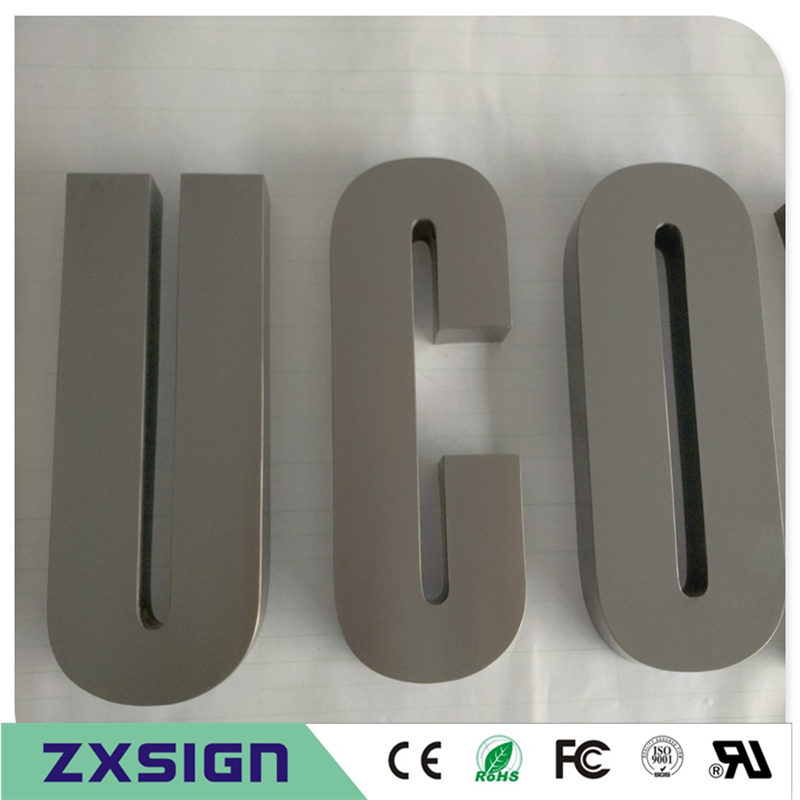 Factory Outlet Outdoor Painted Metal Letters,baking Finish Stainless Steel Letters