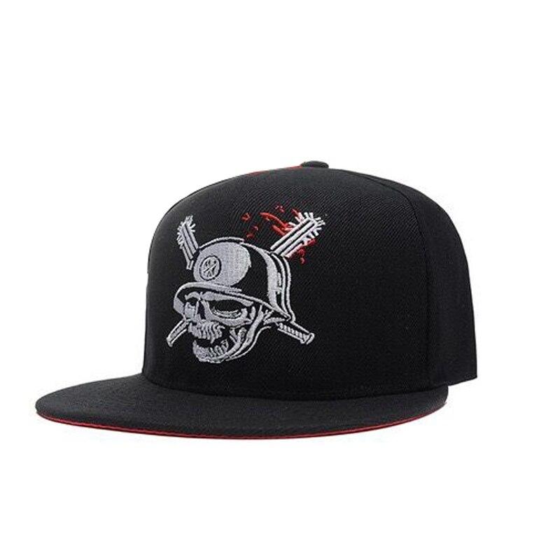 Snapback Cap Baseball-Caps Skull Metal Mulisha USA Best Gothic Hats Unisex Fashion-Brand
