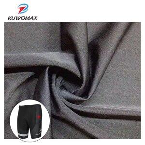 Image 4 - KUWOMAX מכירה לוהטת יוניסקס שחור אופניים נוחים תחתונים ספוג ג ל 3D מרופד אופני קצר רכיבה מכנסיים.