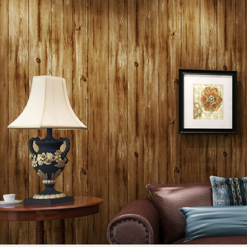 Top Quality  Fabric Mural wallpaper modern wood striped flock wall paper papel de parede tapete bedroom 53x1000cm white mural wallpaper modern stripe flock embossed non woven wall paper papel de parede tapete bedroom decoration 53x1000cm
