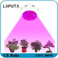 1pcs LAPUTA Newest UFO 300W Full Spectrum Double Chips Medical LED Grow Light Flower Plants led grow lights for indoor plants