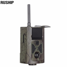 HC500M HD 12MP Trail Camera GSM MMS GPRS SMS Control Scouting Infrared Wildlife Hunting Camera Free Shipping