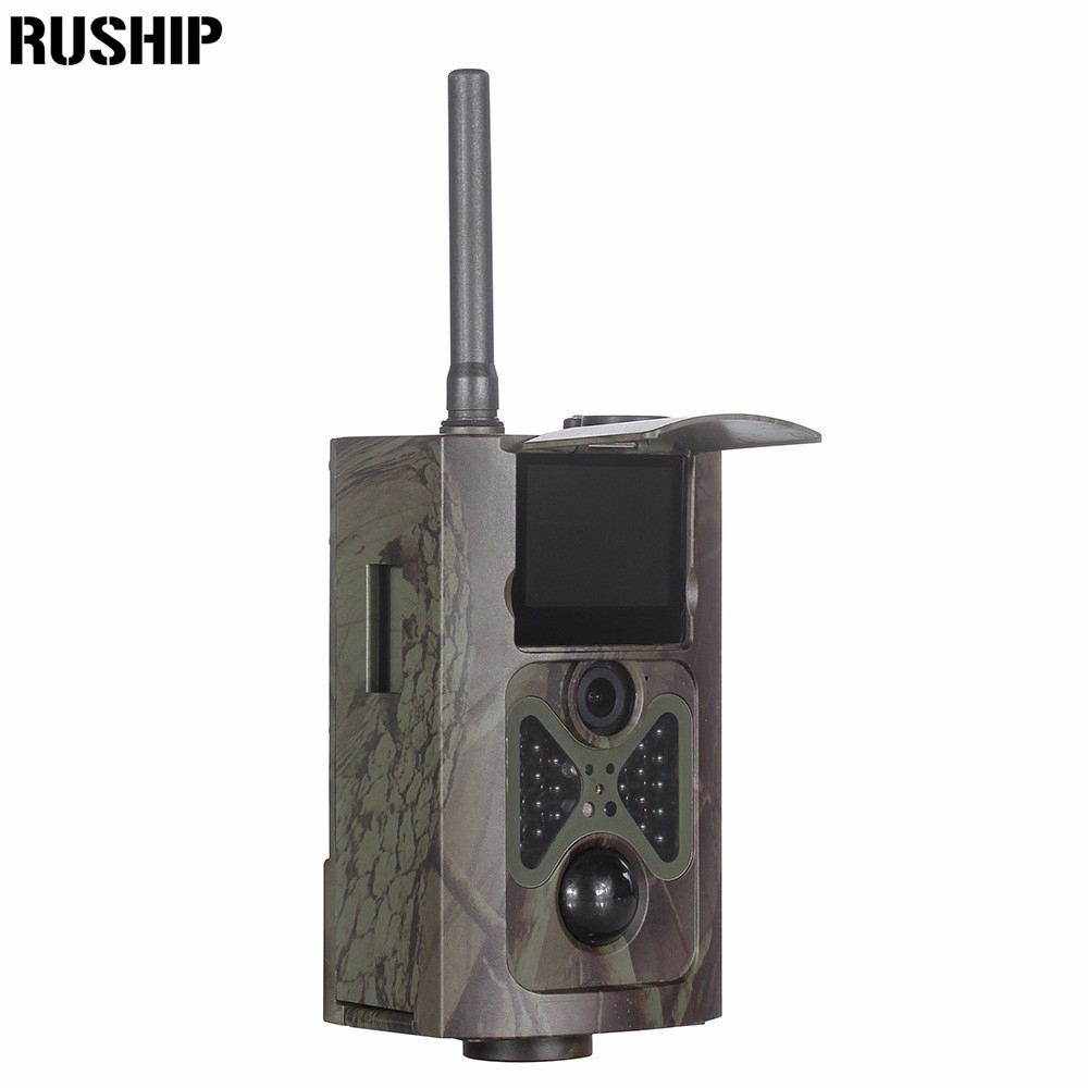 Hunting Camera HC500M HD 12MP Trail Camera GSM MMS GPRS SMS Control Scouting Infrared Wildlife Hunting Camera 1080P 850NM