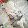 4-24M 2016 New Princess Baby Cotton Girls Pants With Bow Infant Ruffle Trousers Bebes Girls Leggings Cute Boy PP Pants Clothing