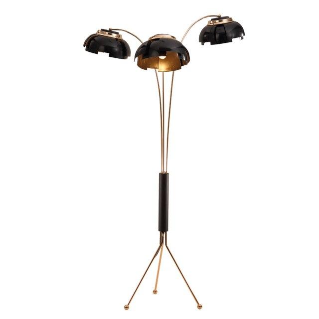 Personalisierte stehleuchte einfache gold schwarz eisen studio study ...