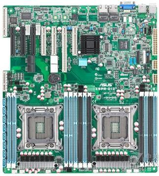 original Used Server motherboard For Asus Z9PR-D12C Socket 2011 Maximum 12*DDR3 32GB 6xSATAII ATX