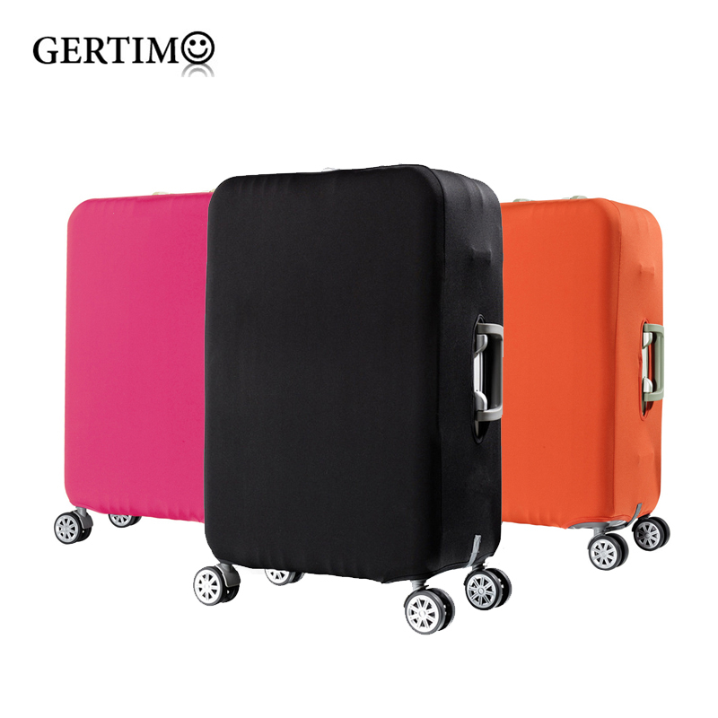 Travel elastic luggage cover protector Stretch fabric zipper suitcase protective covers Travel accessories case for luggage image