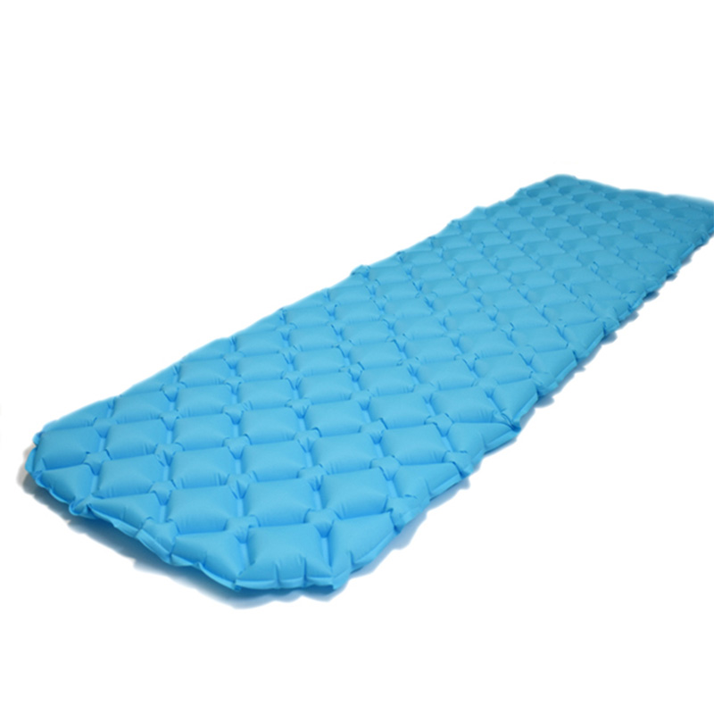 outdoors Ultralight camping pad TPU inflatable mattress Mattress Inflatable bed Folding bed air cushion Moisture proof pad Tent in Camping Mat from Sports Entertainment