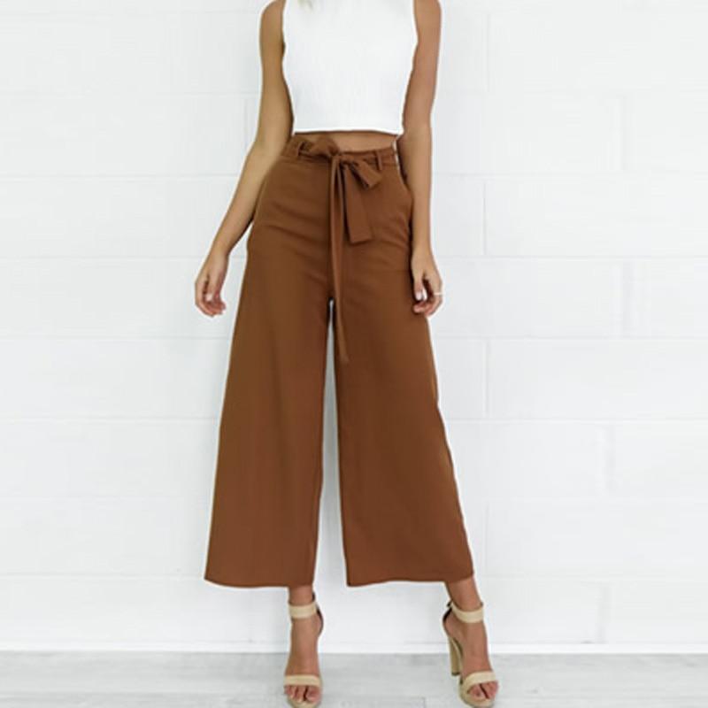 Aliexpress.com : Buy khaki ladies Women see through Capri Pants ...