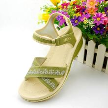 Summer Beach Sandals Authentic Vietnamese Flat Shoes Casual Sandals Wedged Muffin Shoes Women Sandalias Mujer