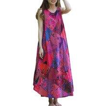 New Design Sleeveless Patchwork Beach Dress 2016 Summer Long Sundress Maxi Dress Women Tank Dresses Boho Style Robe Vestidos