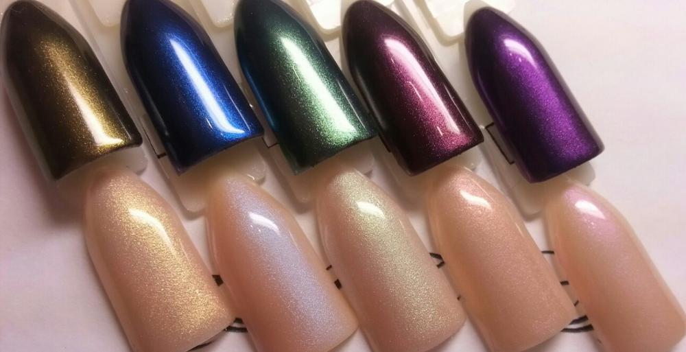 100g Symphony GREEN color natural Nail polish powder,flash eyeshadow ...