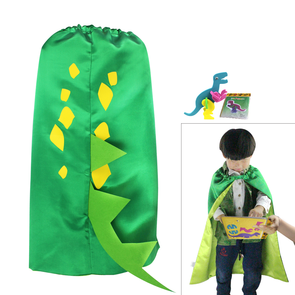 Costumes & Accessories Girls Costumes 10 Pcs Special 70*70 Cm Plain Green Capes And Sticker Bulk-girls Toys Birthday Baby Costume Party Supplies Granddaughter Gifts