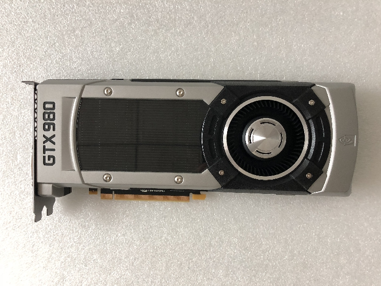 ASUS original GTX980 4G public version graphics card used 90%new image
