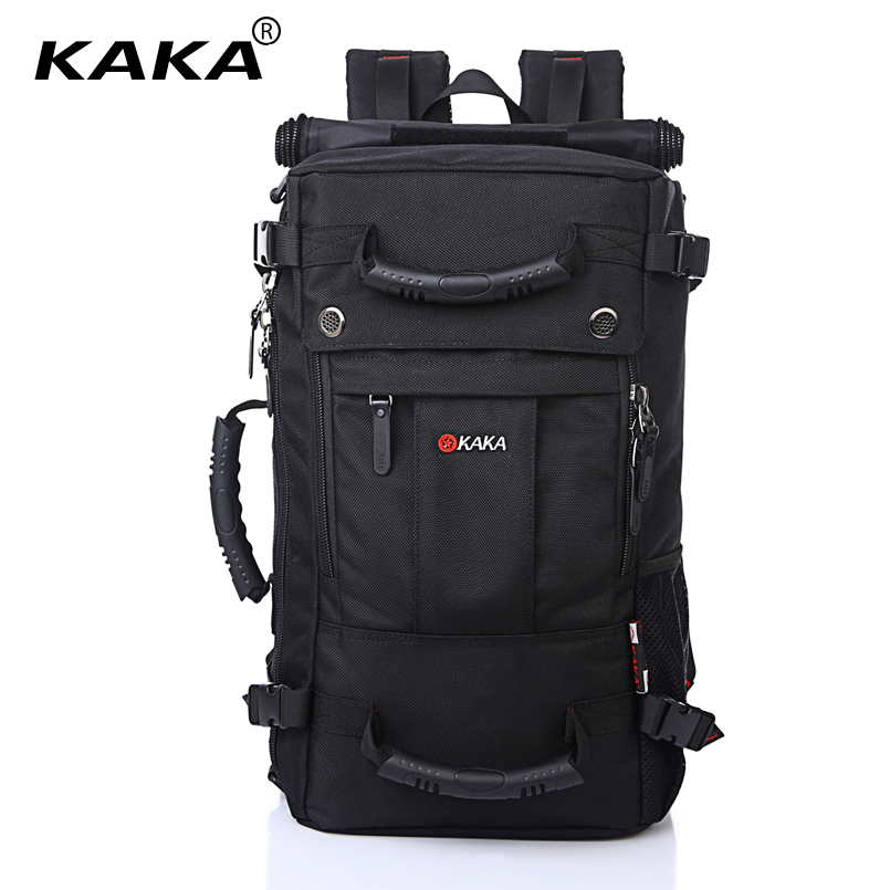 KAKA Brand Stylish Waterproof Large Capacity Backpack Male Luggage Travel Shoulder Bag Computer Backpack Men Multifunctional Bag zuoxiangru travel pack bag men luggage backpack bag large capacity multifunctional waterproof laptop backpack men for shoes