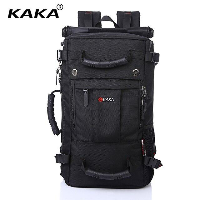 KAKA sac à dos étanche de grande capacité pour hommes, sac de voyage à bandoulière dordinateur, sac multifonctionnel