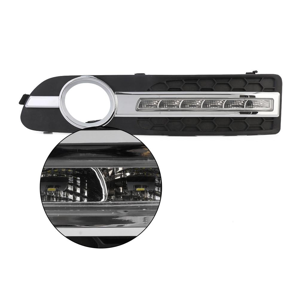 NOVSIGHT Day Lights LED Car Daytime Running Light DRL Driving Fog Lamp For Volvo S80 2013-2016 14 15 D20 novsight car led light drl daytime running lights white