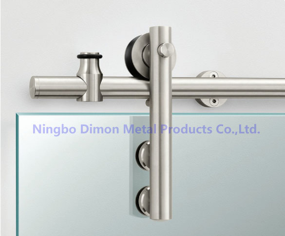Dimon Stainless Steel Door Hardware Glass Sliding Door Hardware Hanging Wheel High Quality Sliding Door Hardware DM-SDG 7001