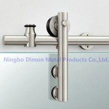 Dimon Stainless steel door hardware glass sliding door hardware hanging wheel high quality sliding door hardware DM-SDG 7001
