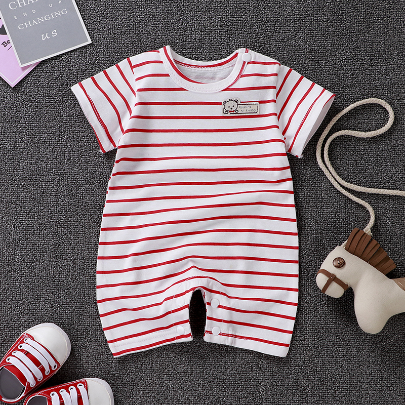 Uniesx Newborn Baby Rompers Clothing Infant Jumpsuits 100%Cotton Stripe Children Roupa De  Girls&Boys Baby Clothes