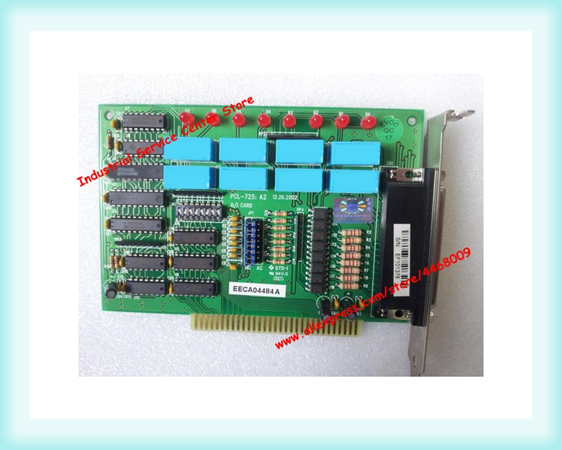 Original PCL-725 8-channel relay output 8-channel isolated digital input cardOriginal PCL-725 8-channel relay output 8-channel isolated digital input card