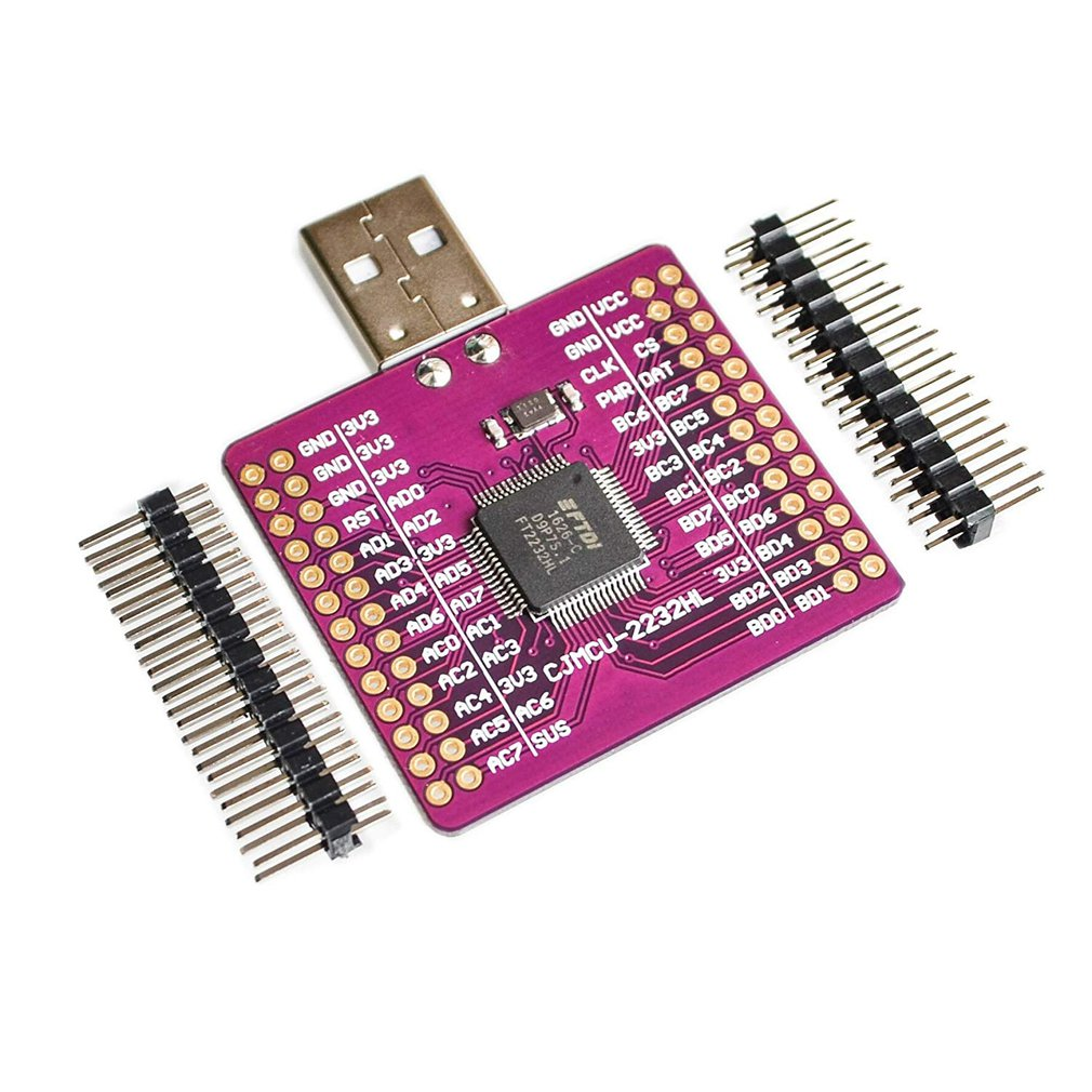 CJMCU-2232 FT2232 HL USB To UART FIFO SPI I2C JTAG RS232 Module FT2232HL N9P6
