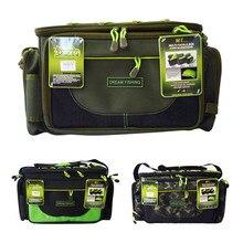 45x15x25cm Waterproof Fishing Bag12000D Nylon Multifunctional Carp Fishing Package Tool Tackle Bolsa De Pesca Case acesorios