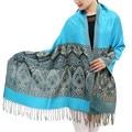 Nepal National Style Floral Tassel Shawl Wraps Long Fringe Scarf  Women Pashmina Echarpe Hijab Bandana Foulard Winter Scarves