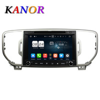 KANOR Pure Android 6 0 8 Core For Kia Sportage 2016 Car Dvd Gps Navigation Dvd