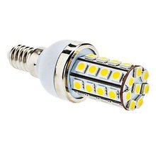 5 X E14 5W 36xSMD 5050 480LM 6000-6500K Cool White Light LED Corn Bulb Blanc chaud 2800-3500k Ampoule led  (AC 220-240V)