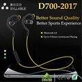 Top D700 Sílaba Bluetooth 4.1 Esportes Fone De Ouvido 5 Horas de Música/Tempo de Conversação 180 Horas Em Standby Música Esportes Sem Fio fone de ouvido