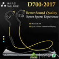 Top Syllable D700 Bluetooth 4.1 Sports Headset 5 Hours Music/Talk Time 180 Hours Standby Time Wireless Sports Music Earphone