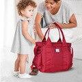 Multifunctionalmaternidade Baby Diaper Bags Baby Nappy Bag Travel Mummy Maternity Bags Ladies Handbag Messenger Bags V-0613