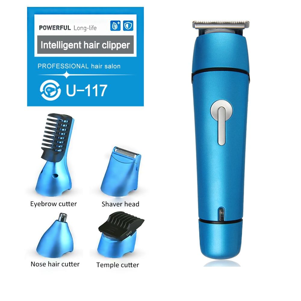 Tondeuse à cheveux professionnelle multifonction tondeuse à cheveux électrique Maquina De Cortar Cabelo qualité tondeuse à barbe pour hommes