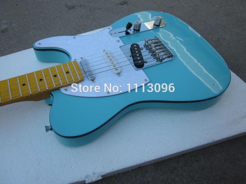 Free shipping wholsale NEW guitarra TL guitarra/green color oem electric guitar/guitar in chinaFree shipping wholsale NEW guitarra TL guitarra/green color oem electric guitar/guitar in china