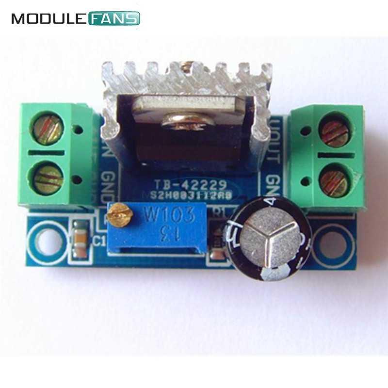 2 шт DC Линейный преобразователь Бак Сыходзь LM317 низкая пульсация Модуль Регулируемый источник питания линейный регулятор модуль
