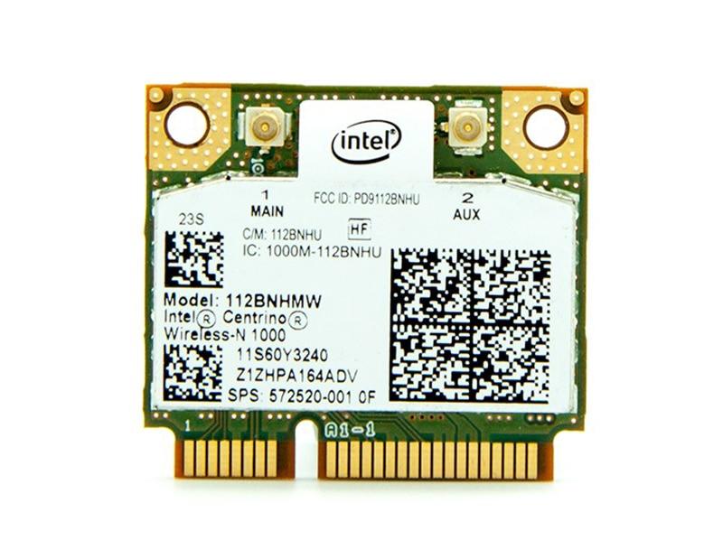 Intel 1000 112BNHMW Wireless WiFi Card for Asus Acer Toshiba Samsung Sony Laptop