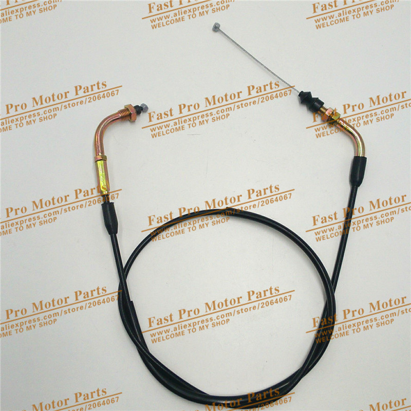 Scooter Throttle Cable Gas Cable 79 GY6 50cc 150cc  Scooter Parts throttle cable / line / wire 35 83 motorcycle throttle cable for 50cc 150cc dirt bike d030 042