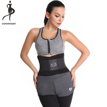 035c39b4a9 Neoprene Waist Trainer Adjustable Unisex Xtreme Power Belt Hot Slimming  Thermo Shaper Sport Belt For Postpartum