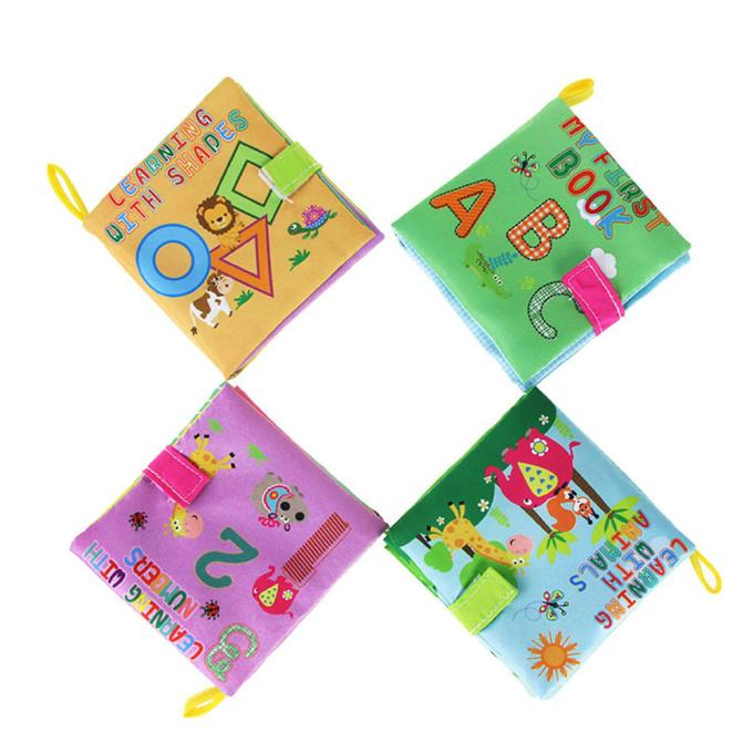 2018 Kids Baby Cloth Book Cartoon Animal Soft Baby Learning Educational Toy colourful  Animal Story Intelligence Developing Toy2018 Kids Baby Cloth Book Cartoon Animal Soft Baby Learning Educational Toy colourful  Animal Story Intelligence Developing Toy