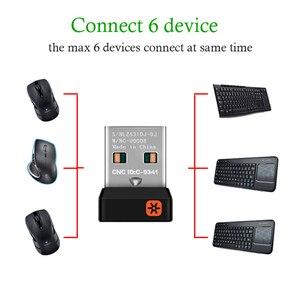 Image 3 - 2.4 GHz Không Dây Dongle Adapter Đầu Nhận Nano Dongle Cho Logitech 6 Kênh 6MM Cho Cho MX M905 M950 m505 M510 V. V.