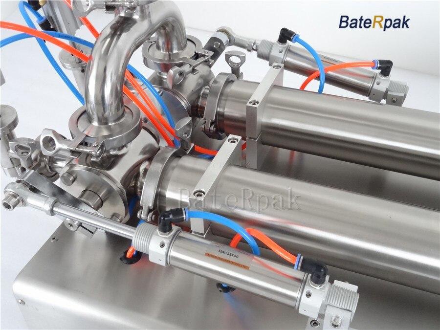 G2 rozsdamentes acél vízszintes pneumatikus folyadék töltőgép, - Elektromos kéziszerszámok - Fénykép 3