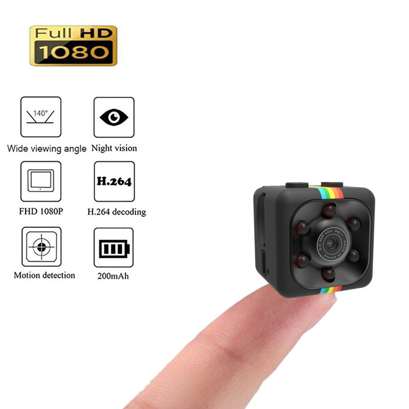 SQ11 Mini Camera 1080P Sport DV Mini Infrared Night Vision Monitor Concealed small Camera DV Video Recorder Support TF Card цена