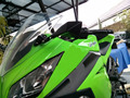 Espejo lateral retrovisor rizoma motocicleta moto cnc de aluminio negro para kawasaki z750 bandido suzuki honda yamaha bmw ducadi ktm
