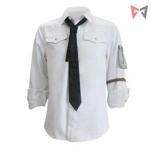 Image 2 - MMGG jeu PUBG champs de bataille Cosplay Costumes chemises blanches homme femme même Style vêtements de haute qualité pleine taille