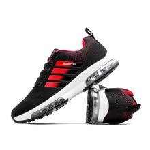 Nuova professione uomini scarpe da corsa unico cuscino d aria design  traspirante scarpe sportive luce 9ded3f6504f