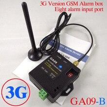 2017 Novo Publicado 8 3G e GSM App controle canal GA09 B Mini GSM sistema de Alarme de Intrusão Sistema de Alarme app inteligente casa
