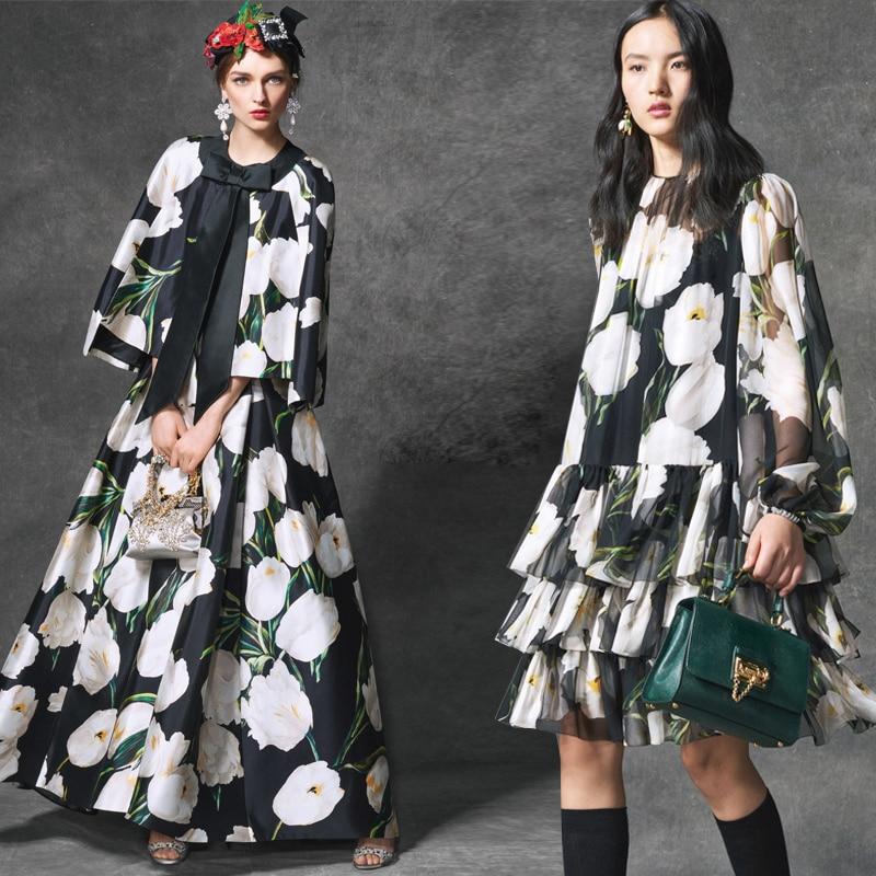 Hot sale new milan fashion digital painting silk natural doupion crepe DE chine mulberry silk fabric for dress tissu bright DIY